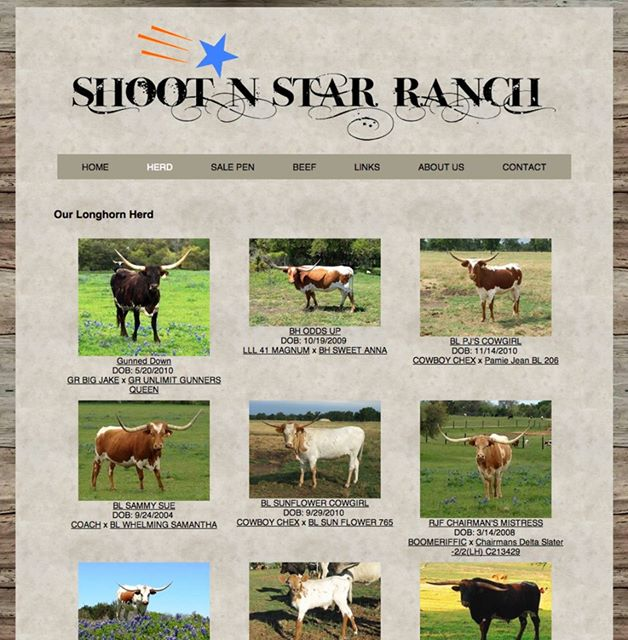 Shoot N Star Ranch Website
