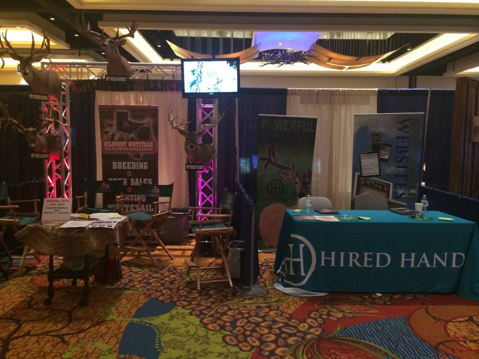Wildpoint Whitetails Booth