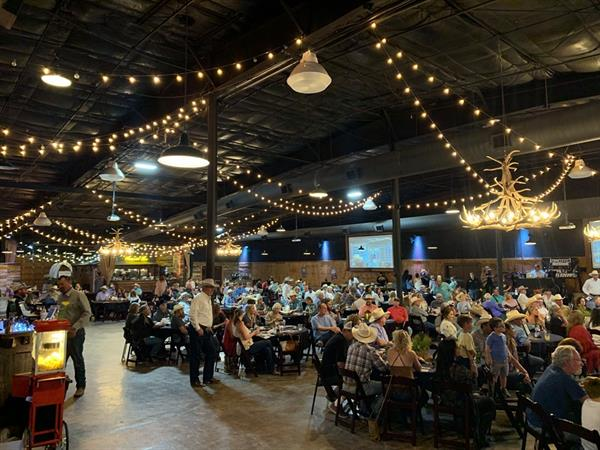 A full house both Friday and Saturday nights at River Ranch Stockyards.