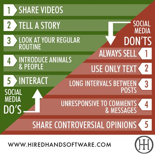 Do's and Don'ts of Ranch Social Media