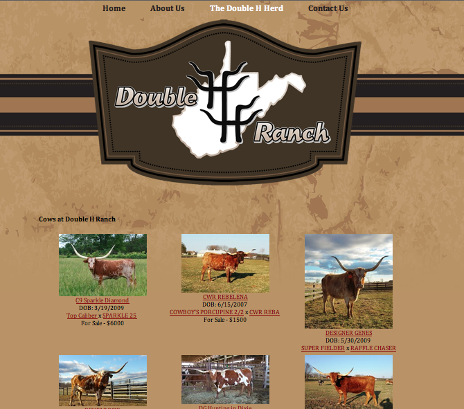 Double H Ranch page
