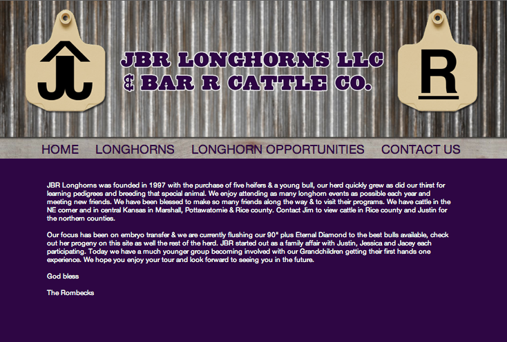 JBR Longhorns-home