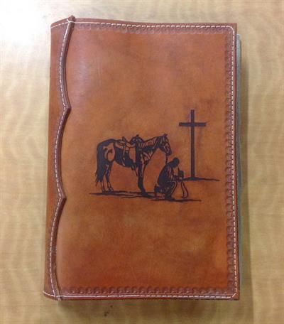 Leather Bible cover
