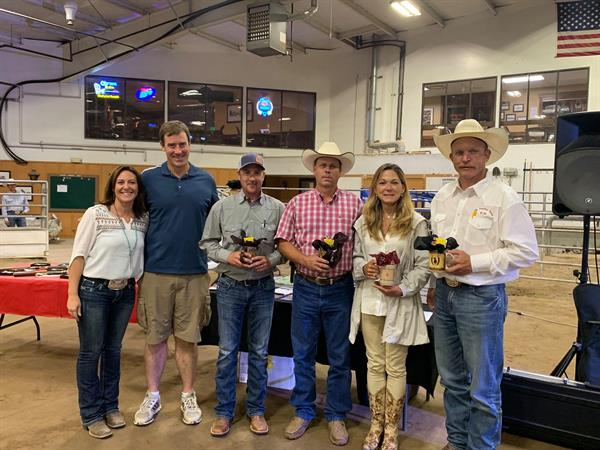 Marlene Reynolds with 2019 Futurity Judges.