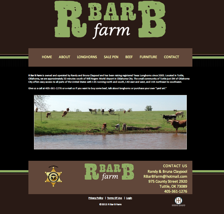 R Bar B Farm Home