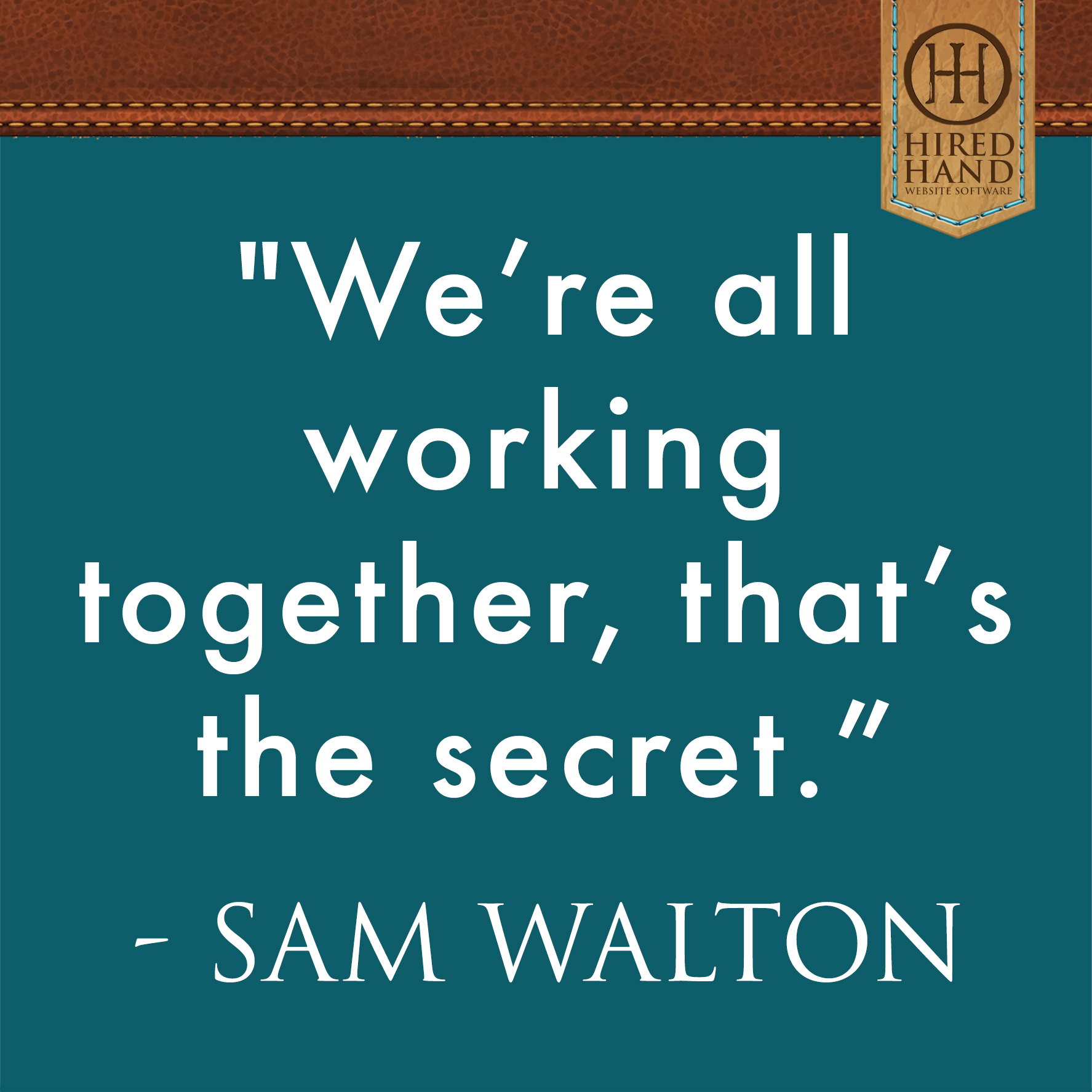 Sam Walton Quote