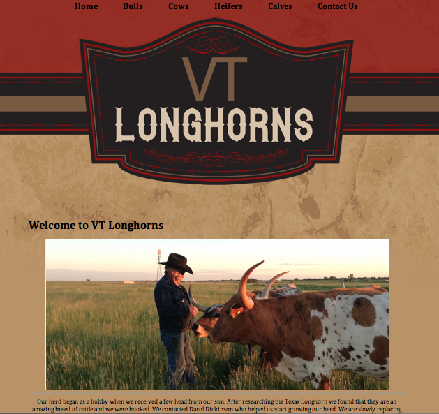 VT Longhorns Home